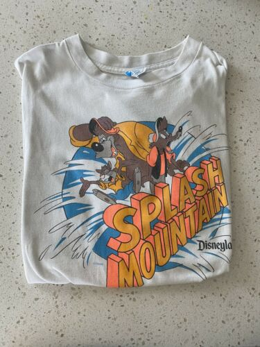 splash mountain shirt large Vintage Disney