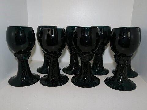 Porcelæn, Mørkegrønne Rømerglas fra 1900-1930,