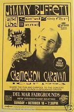 "JIMMY BUFFETT ""CHAMELEON CARAVAN TOUR"" 1993 SAN DIEGO CONCERT POSTER"
