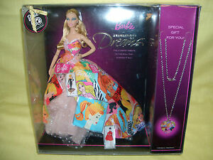 Barbie th anniversary generations of dreams necklace ebay