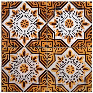 Details About 24 PC Set Kitchen Tile Decals Spanish Mexican Sticker Patters Bathroom  Decor H2