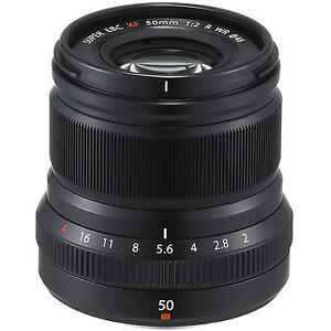 Nuevo Fujifilm Fujinon XF 50mm F2 R WR Lens (Black)