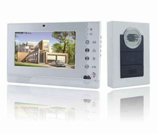 Video Türsprechanlage Kamera und 7