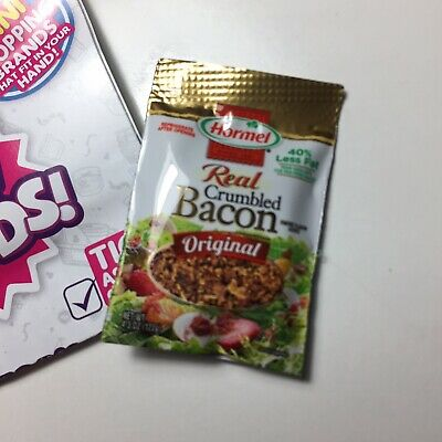 Zuru 5 Surprise Mini Brands Hormel Real Crumbled Bacon Salad Topping Groceries