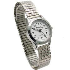 Ravel Ladies Super-Clear Quartz Watch with Expanding Bracelet sil #30 R0230.01.2