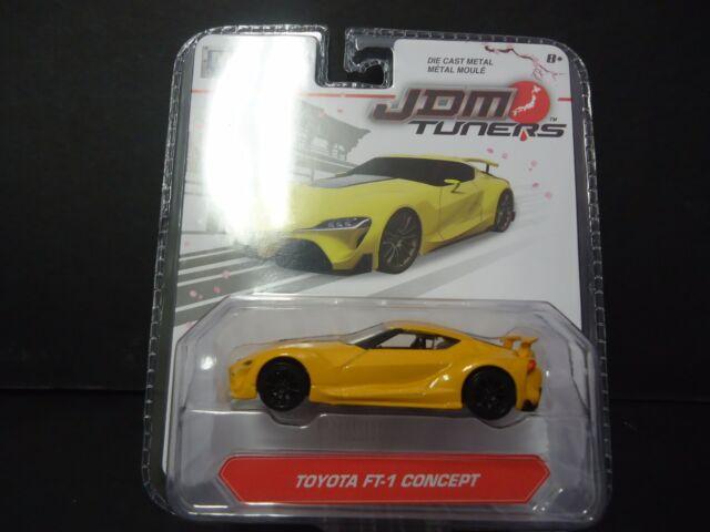 Jada Toyota FT1 Concept Amarillo Jdm Tuners 14036 W2A 1/64