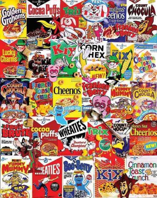 Cereal Boxes White Mountain 1000 Pcs