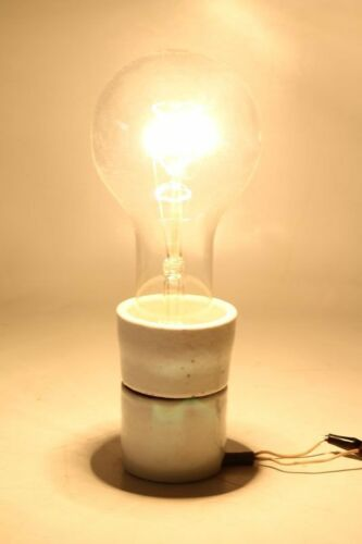 Große Alte Glühbirne 300W 230V Glühlampe E40 super für Loft Emaillampe Art Deco