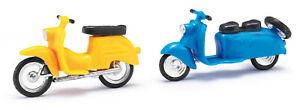 Busch-Mehlhose-210008903-Berlin-Roller-schwalbe-Blue-Yellow-Kit-1-87-H0