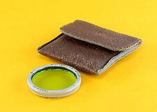 Bay II (2) Original Rolleiflex Filter -  light green - in off brand case