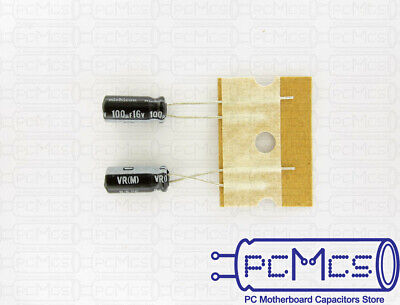 30 Pcs Nichicon VR Series 50V 4.7UF Low lmpedance Capacitor Made in Japan 5x11