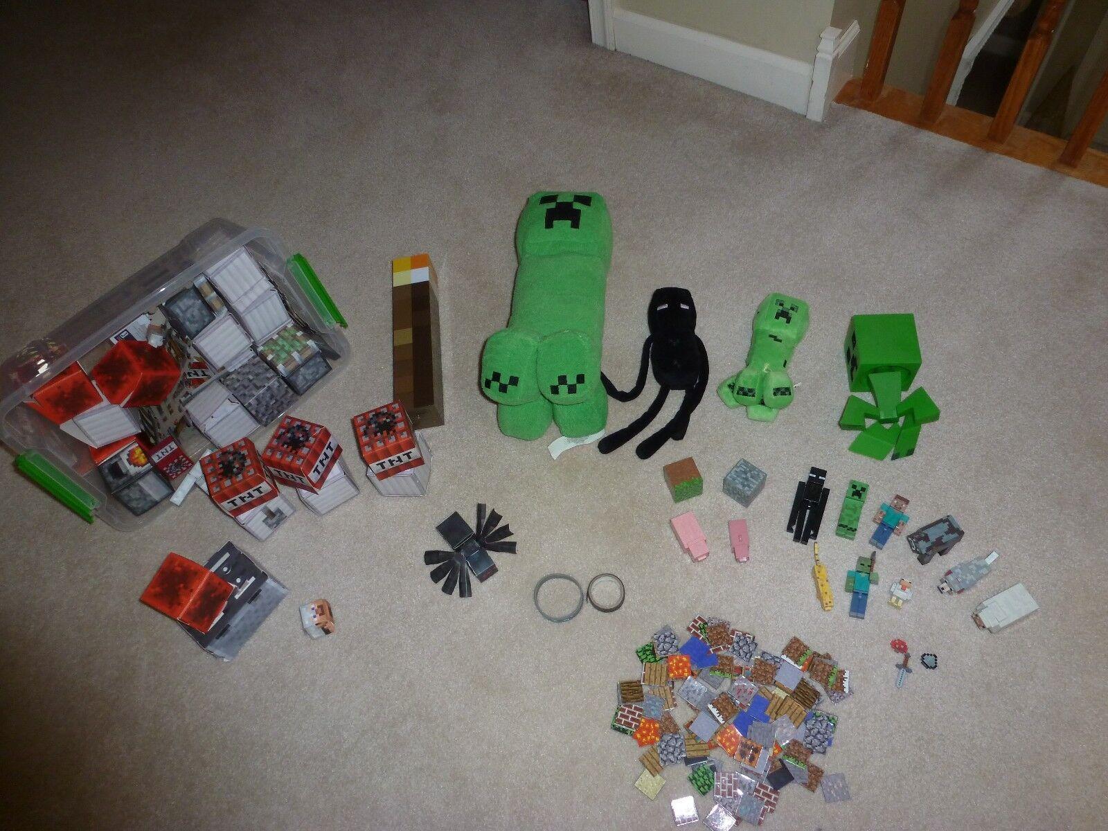 Minecraft Creeper Enderman Torch Accessories Accessories Accessories Figurines 384f6f