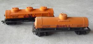lot-of-2-vintage-ho-scale-bachmann-orange-shell-kesselwagen