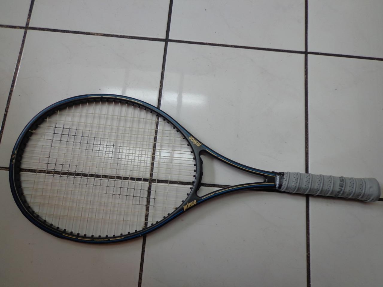 Prince Graphite Supreme 110 head 4 5 8 grip Tennis Racquet