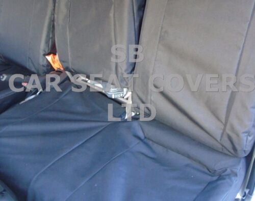2013 BLACK WATERPROOF SEAT COVERS TO FIT A NISSAN CABSTAR VAN