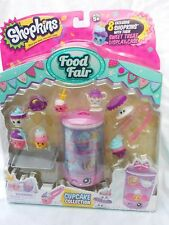 New Shopkins Food Fair Cupcake Collection Season 3