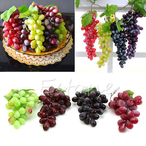 Charmant Image Is Loading NEW Lifelike Artificial Grapes Plastic Fake Fruit Food