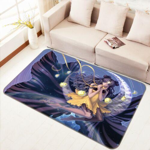 3D Sailor Moon 144 Japan Anime Non Slip Rug Mat Room Mat Round Elegant Carpet