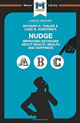 Nudge: Improving Decisions About Health  Wealth and Happiness New Paperback Book
