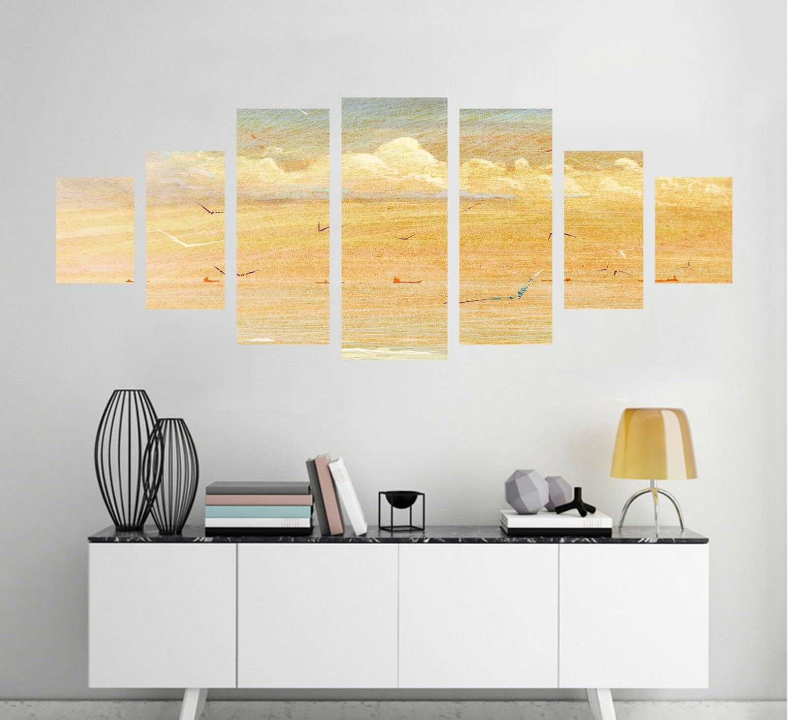 3D Painting Sky View 123 Unframed Print Wall Paper Deco Indoor AJ Summer