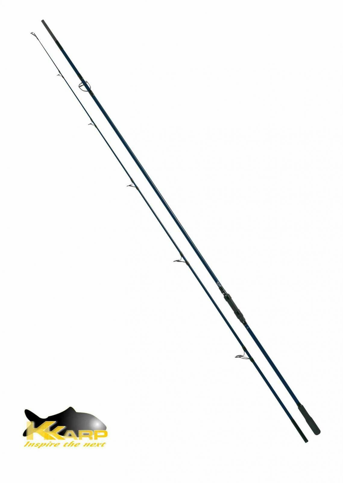 Canna Kkarp Rival 3.00 Lbs 360  390 cm Pesca Carpfishing Carbonio Due Sezi PP