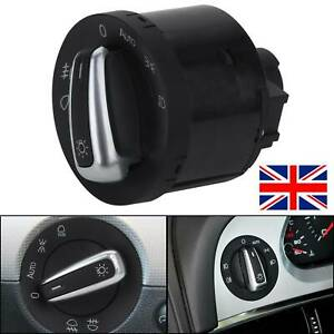 Headlight Switch Control For VW Golf5 GTI MK5 MK6 Jetta Passat 5ND941431B New