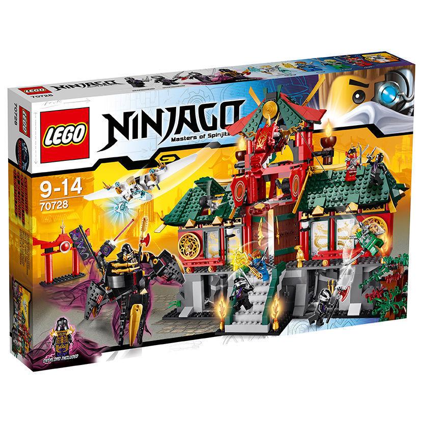 LEGO ® 70728 70728 70728 Ninjago Ninjago City Battle for NINJAGO CITY NUOVO OVP NEW 491154