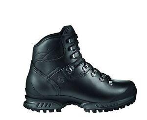 Hanwag-trekking-scarpe-TATRA-WIDE-PELLE-TAGLIA-7-40-5-NERO