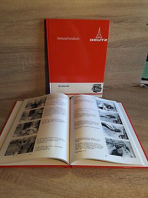 Deutz Werkstatthandbuch für Traktoren mit Dieselmotor 614 FL614
