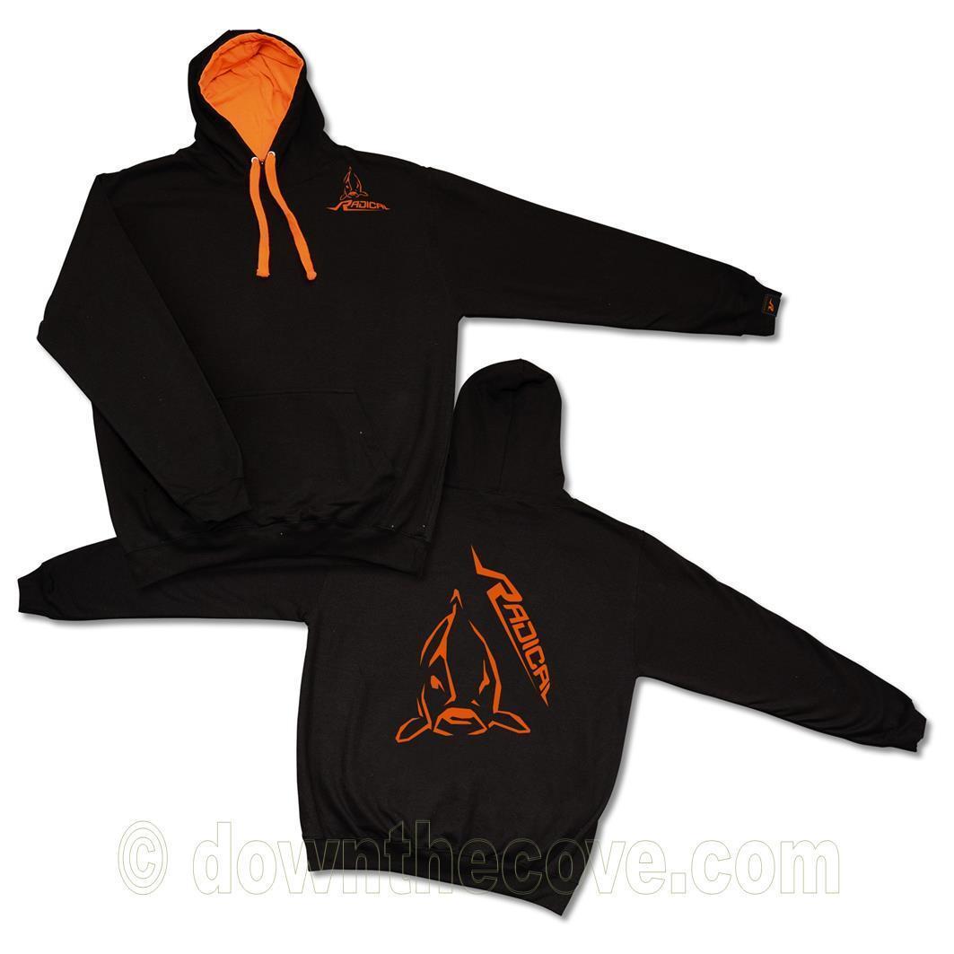 Radical Hooded Sweatshirt for Fisherman - Hoody 3 Sizes - Ideal Fishing Gift