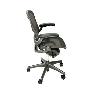 miller office chair. Image Is Loading Herman-Miller-Aeron-Size-B-Office-Chair-with- Miller Office Chair O