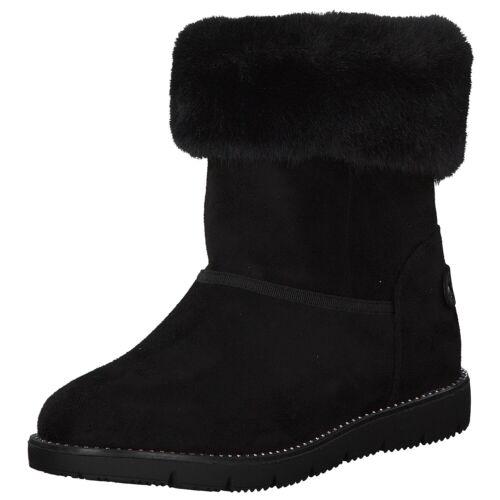 Tom Tailor Femmes Bottines Chaussures Noir