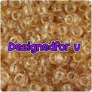 * 3 Pour 2 * 100 X Or Mousseux 9x6mm Barrel Shape Haute Qualité Pony Beads-afficher Le Titre D'origine