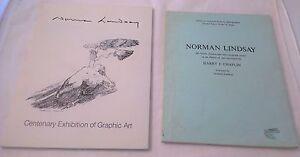 Norman-Lindsay-x-2-Harry-Chaplain-Bibliography-Centenary-Exhibition-Catalogue