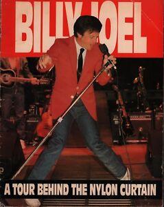 BILLY-JOEL-1982-BEHIND-THE-NYLON-CURTAIN-TOUR-CONCERT-PROGRAM-BOOK-GD-2-VG