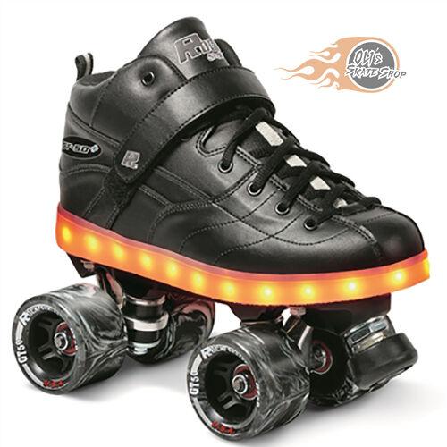Sure-Grip GT-50 Plus LED Sole Light up Quad Roller Skates UK 6/US 7