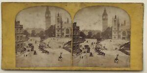 London UK Londra Istantanea Foto n2 Vintage Stereo Albumina