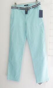 81ac877b3 Polo Ralph Lauren Boys Skinny Pant   Belt Set Parakeet Sz 14 - NWT ...