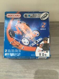 Alerte Meccano Racing Car #2511 - Faire 2 Modèles-neuf Et Non Ouvert-afficher Le Titre D'origine