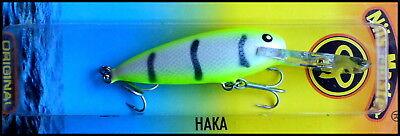 4 g color 046 RARE NILS MASTER HAKA DD DEEP RUNNER 5 cm Hand made in Finland