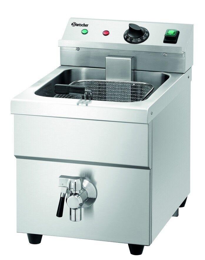 Bartscher d'induction Friteuse Friteuse 60-190 ° C 8 L 290x480x515mm gastlando