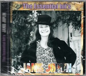 Janis-Joplin-CD-The-Essential-Hit-039-s-Brand-New-Sealed