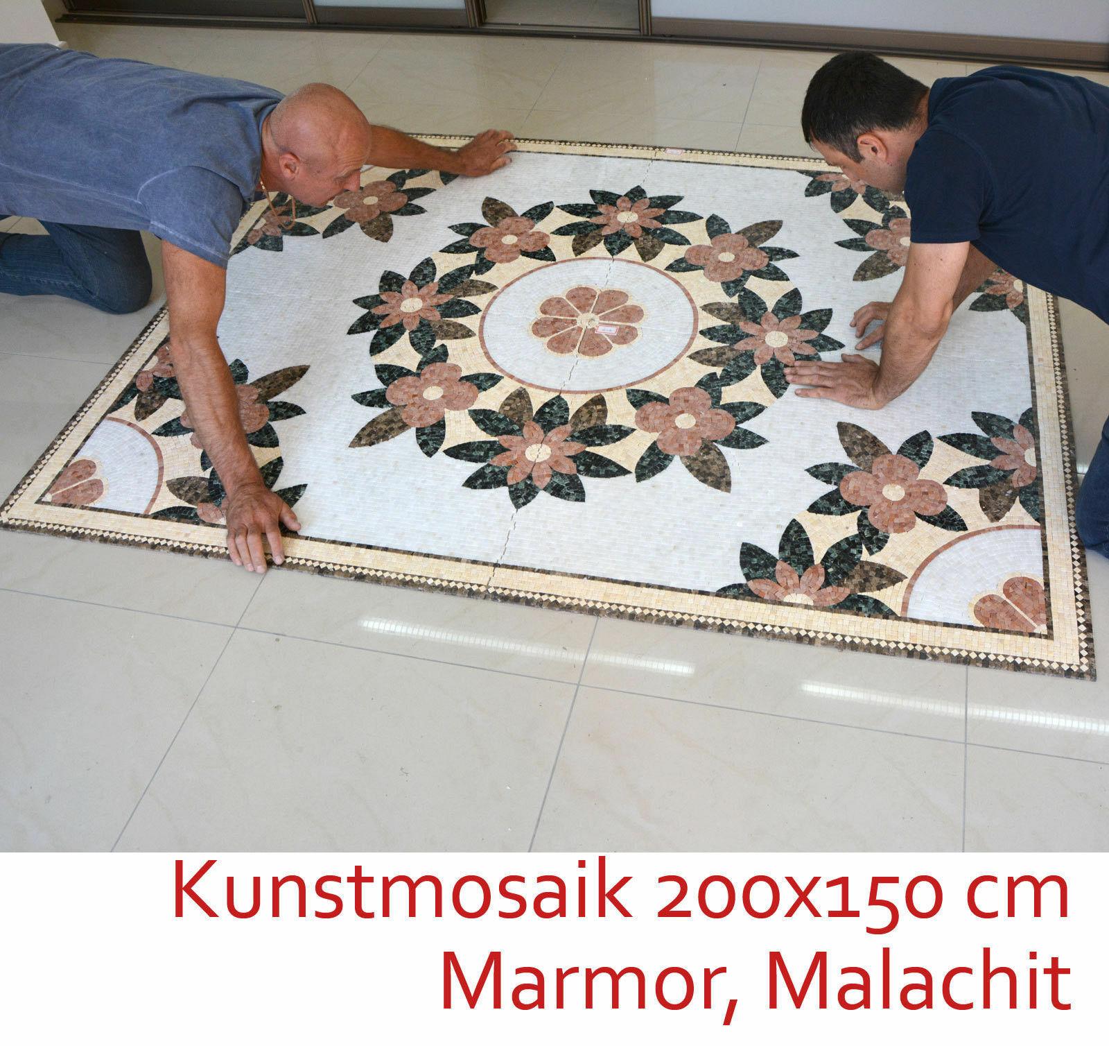 Elegant Mosaik -Bild 200x150cm 3M 2 30.000 Stones Naturestone Diverse