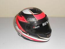 Kimi Raikkonen Hand Signed 1/2 Scale Helmet Lotus Renault 2013 Very Rare.