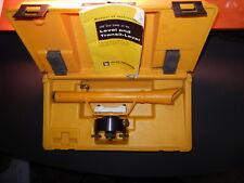 Vintage Berger Instruments Model 3h Surveying Transit Amp Bubble Level With Case