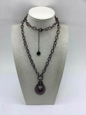 Dana Buchman Silver Plated Chain Linked Necklace