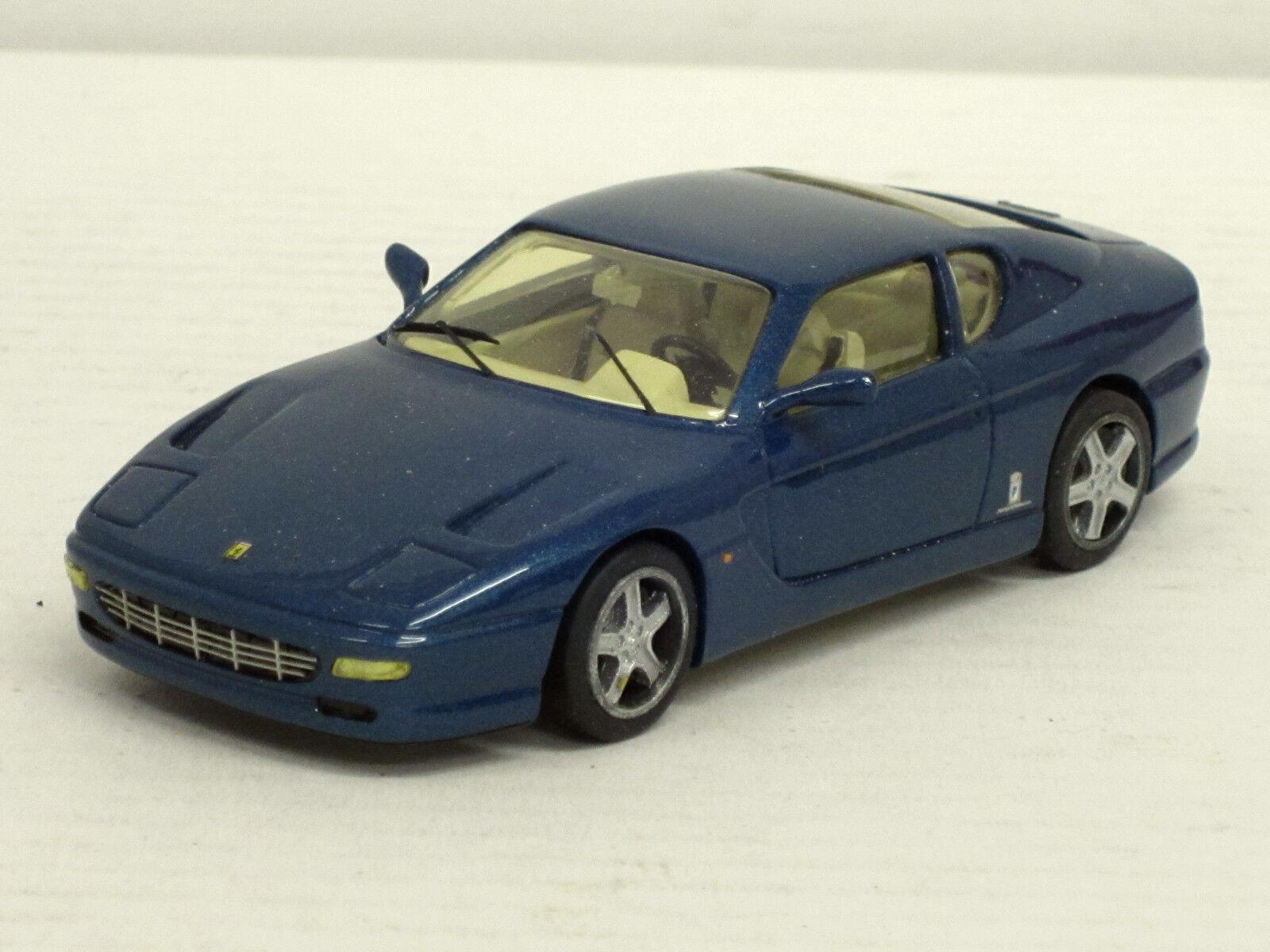 Ferrari 456 GT 22 in blaumetallic, o.OVP, Starter, 1 43, Handarbeit    Kostengünstig