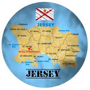 JERSEY-CHANNEL-ISLANDS-MAP-FLAG-ROUND-SOUVENIR-FRIDGE-MAGNET-GIFTS