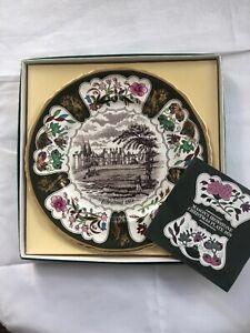 Vintage-Boxed-Mason-s-Ironstone-Christmas-Plates-1979-Hampton-Court-Palace-5th