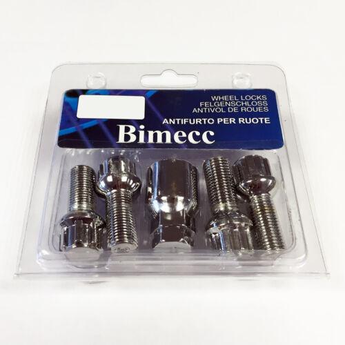 Bimecc M14 x 1,5 Radius de bloqueo Rueda nuts//bolts-Volkswagen Transporter T5 03